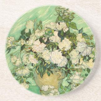 Van Gogh gåvastilleben med roImpressionism Underlägg Sandsten