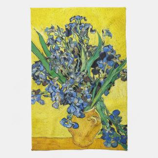 Van Gogh Irises kökshandduken Kökshandduk