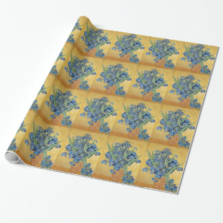 Van Gogh Irises konst för berömd för Presentpapper