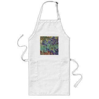 Van Gogh Irises Långt Förkläde