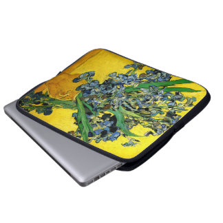 Van Gogh: Irises Laptop Sleeve