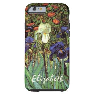 Van Gogh Irises, vintagepost impressionismkonst Tough iPhone 6 Fodral