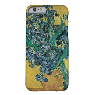 Van Gogh konststilleben med Irises på gult Barely There iPhone 6 Skal