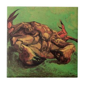Van Gogh krabba på dess baksida, Kakelplatta