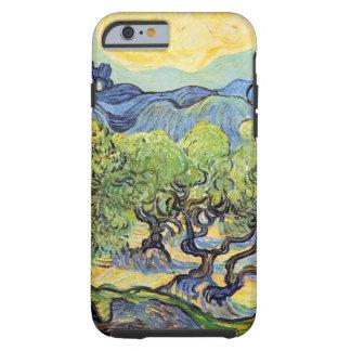 Van Gogh landskap olivgröna träd, vintage konst