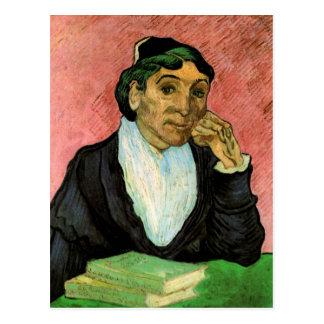 Van Gogh L'Arlesienne (madamen Ginoux) Vykort