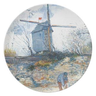 Van Gogh: Mala av Galette Tallrik