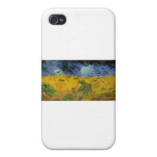 Van Gogh målningar: Van Gogh vetefält iPhone 4 Skydd