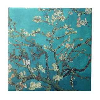 Van Gogh mandelblommar belägger med tegel Kakelplatta