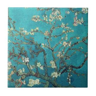 Van Gogh mandelblommar belägger med tegel Liten Kakelplatta