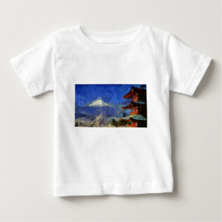 Van Gogh Mt-Fuji-Japan Tee Shirts