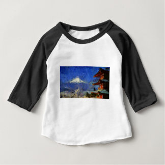 Van Gogh Mt-Fuji-Japan Tshirts