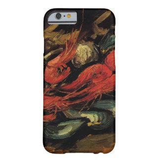 Van Gogh, musslor och räka, vintagestilleben Barely There iPhone 6 Fodral