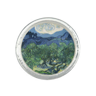 Van Gogh   olivträd   1889 Ringar Med Foto