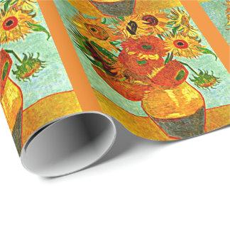 Van Gogh - solrosor 12 Presentpapper