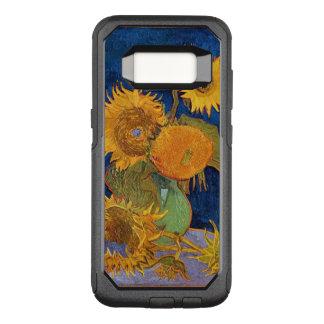 Van Gogh solrosor OtterBox Commuter Samsung Galaxy S8 Skal