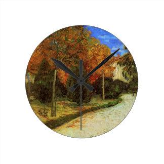 Van Gogh som allmänheten parkerar på Arles Rund Klocka