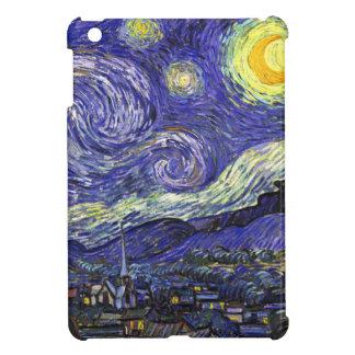 Van Gogh Starry natt iPad Mini Mobil Skydd