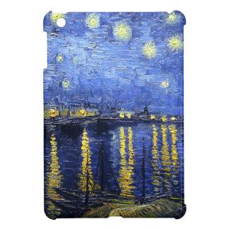 Van Gogh Starry natt över Rhonen iPad Mini Mobil Skal
