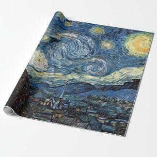 Van Gogh Starry natt Presentpapper