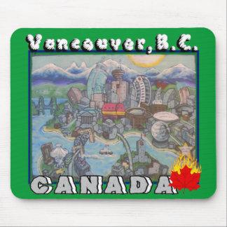 Vancouver B.C. Kanada Mousepad Musmatta