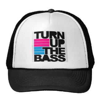 Vänd upp den bas- hatten keps