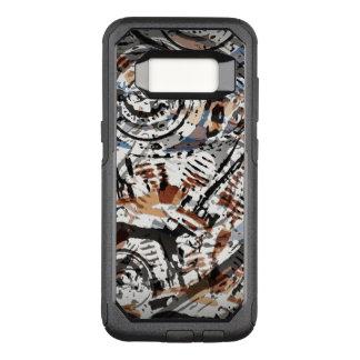 Vända om abstrakt V-Tvilling- OtterBox Commuter Samsung Galaxy S8 Skal