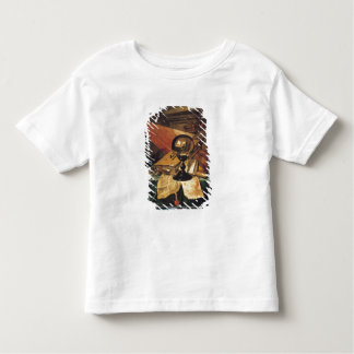 Vanitas med en kristallkula t shirts