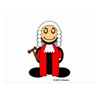 (Vanlig) domare, Vykort