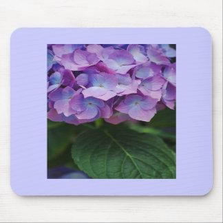 Vanlig hortensia blommar Mousepad Musmatta