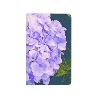 Vanlig hortensiaanteckningsbok anteckningsbok