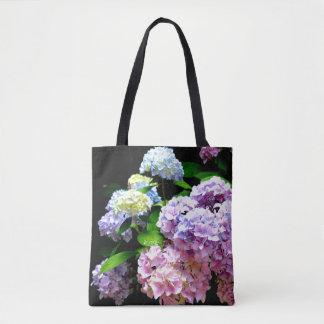 Vanlig hortensiaträdgård tygkasse