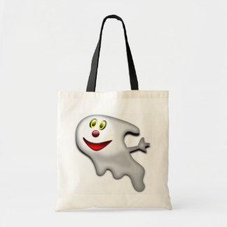 Vänlig lycklig spöke tygkasse