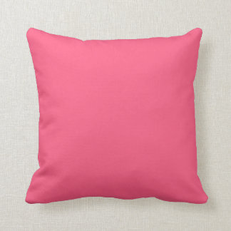 Vanlig rosa dekorativ kudde