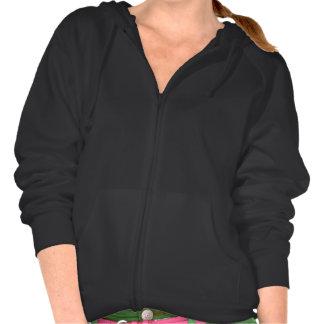 Vanlig svart hoodieull för kvinnor, damer sweatshirt