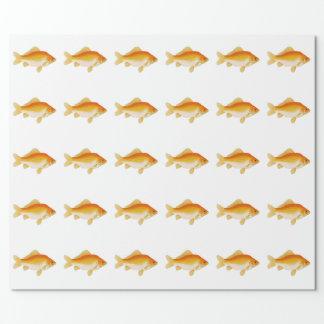 Vanligt guldfisk presentpapper