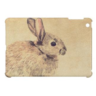 Vanligt skissar kaninakvarellen iPadkortkortfodral iPad Mini Mobil Skydd
