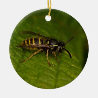 Vanligt Wasp Julgransprydnad Keramik