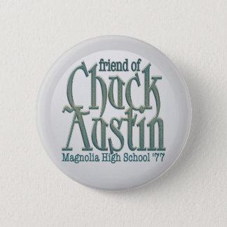 Vännen av chucken Austin knäppas Standard Knapp Rund 5.7 Cm