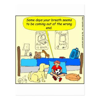 Vännen för 359 hund har dåligaandedräkttecknaden vykort