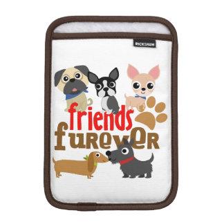 Vänner Furever förföljer valpar iPad Mini Sleeve