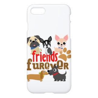 Vänner Furever förföljer valpar iPhone 7 Skal