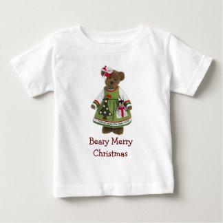 Vänner gör den bäst gåvaBeary god jul T-shirts