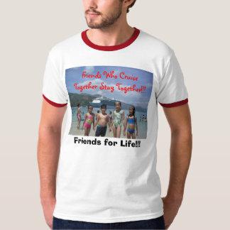 Vänner på kryssning t shirt