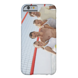 Vänner på strandvolleybolldomstolen barely there iPhone 6 skal