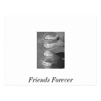 Vänner Vykort