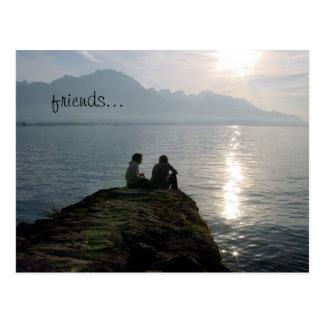 vänner… vykort