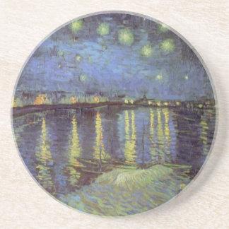 Vans Gogh målning för Starry natt Underlägg Sandsten