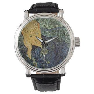 """Vans Gogh """"porträtt av klocka för Dr. Gatchet"""""""
