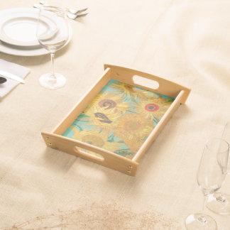 Vans Gogh solrosor Frukostbricka